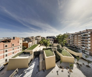 BCQ arquitectura  Joan Maragall Library Barcellona