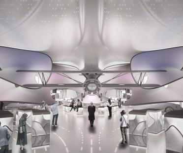 Zaha Hadid Architects Mathematics Gallery, London Science Museum