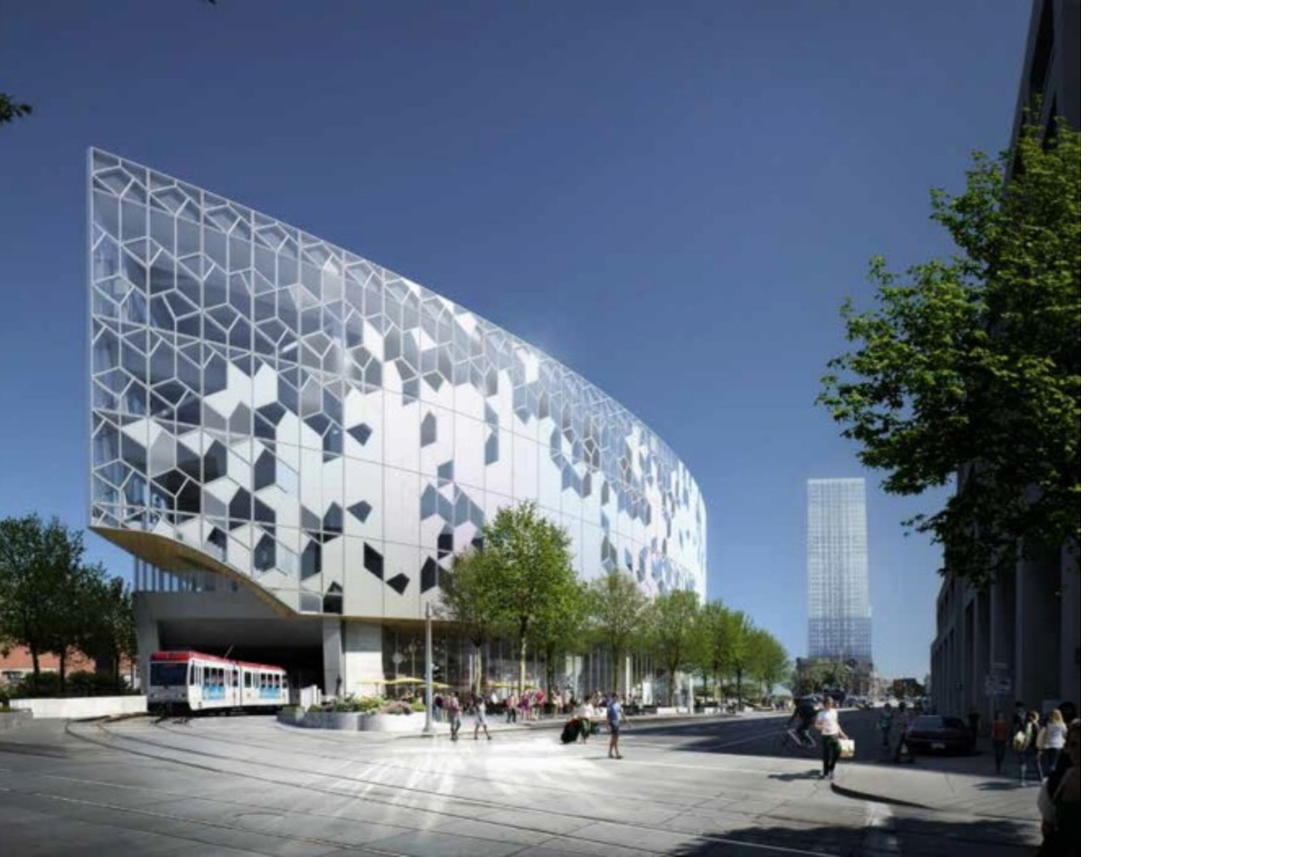 Dialog Snohetta Win The Calgary Central Library Competition