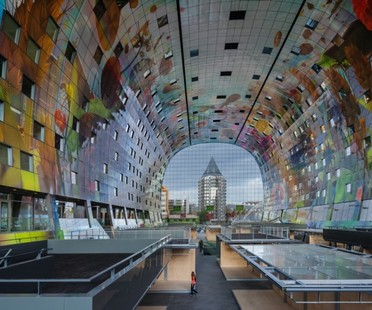 MVRDV Markthal indoor market and apartments in Rotterdam
