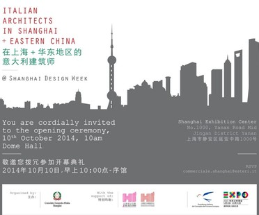 Italian architects featured at Shanghai Design Week