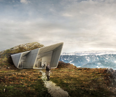 Messner Mountain Museum Corones, architecture and nature.