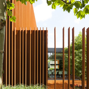 Corten House by DMOA - photographer Luc Roymans