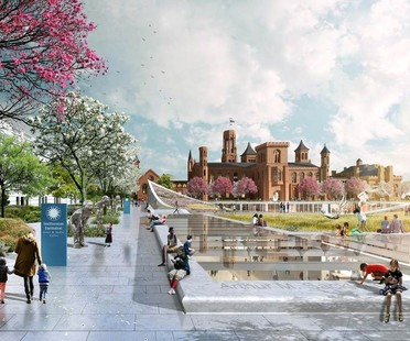 BIG unveils masterplan for Smithsonian South Mall Campus