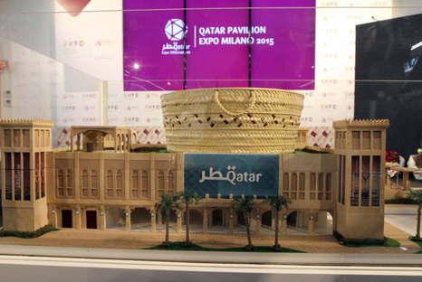 The Qatar Pavilion for Expo Milano 2015