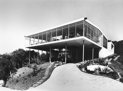 Casa de Vidro, São Paulo, 1949-1951, Vista esterna appena dopo la realizzazione