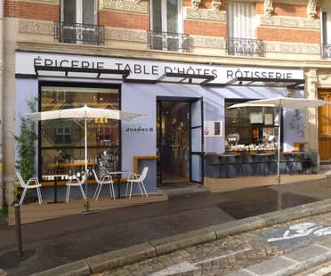 C comme C, Jeanne B restaurant in Montmartre, Paris