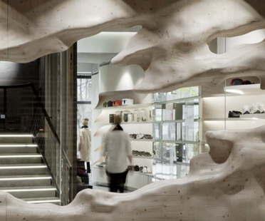 Snøhetta designs YME Universe's Oslo concept store