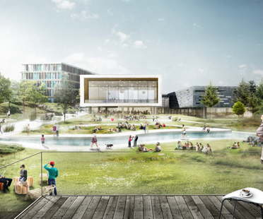 C.F.Møller's project wins the competition for expansion of CBS