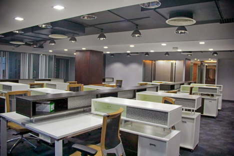 Interior design for the Masco Group offices in Uttara, Dhaka