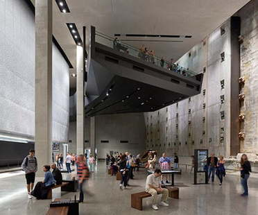 The AIA Honor Award for Interior Architecture goes to Davis Brody Bond for the 9/11 Memorial Museum