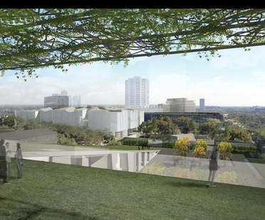 Steven Holl and Lake|Flato Architects for the Museum of Fine Arts, Houston