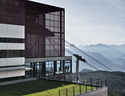 The Alps, Architecture and Tourism exhibition at Aedes Gallery, Berlin