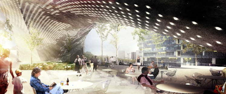 Snøhetta presents plans for Le Monde Headquarters in Paris