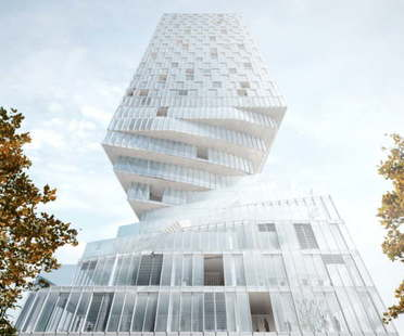 MVRDV wins competition for construction of Turm Mit Taille in Vienna