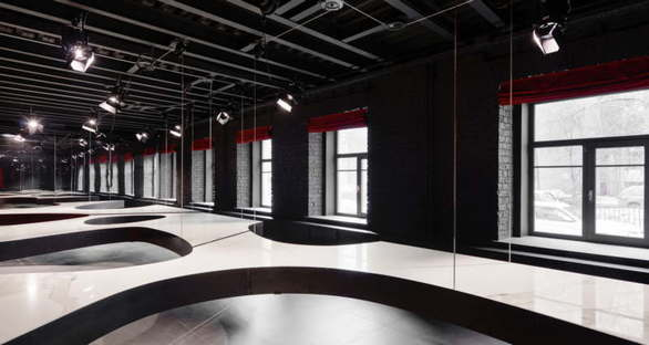 SuperSurfaceSpace Iris Group showroomin Moscow