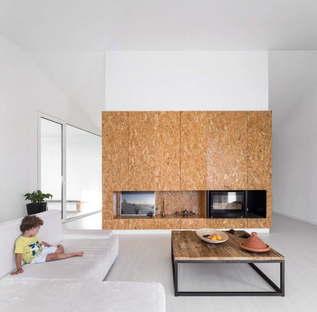 Contaminar Arquitectos Texugueira House residential project