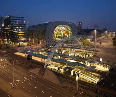 Mvrdv Markthal Rotterdam  Best Shopping Centre at the 2015 Mipim Awards