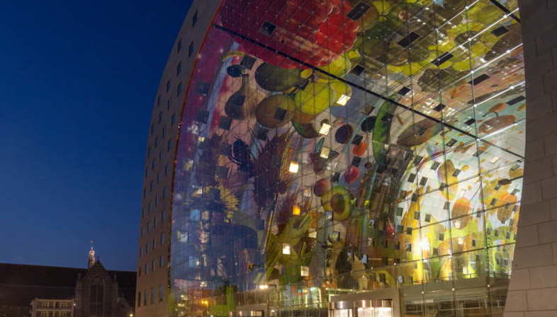 Mvrdv Markthal Rotterdam  Best Shopping Centre at the 2015 Mipim Awards