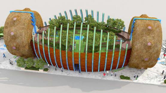 Hungarian Pavilion Expo Milano 2015