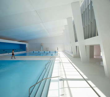 Dominique Coulon Renovation and expansion of Bagneux swimming pool, Paris