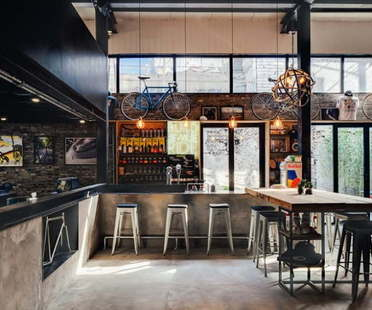 Beer and bicycles: commercial architecture and gathering places in Shanghai