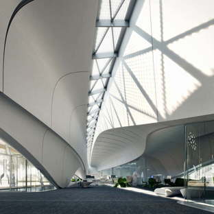 MIR Creative Studios animation for Bee'ah Headquarters Zaha Hadid Architects