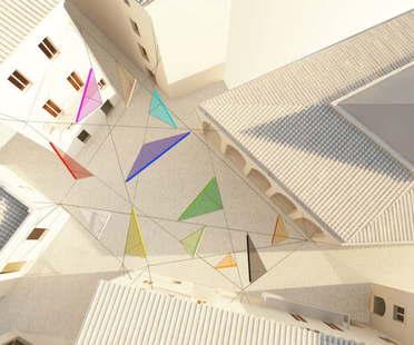 Alvisi Kirimoto + Partners Piazza Faber Tempio Pausania Sardinia