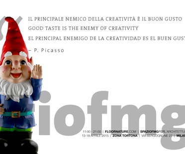 Fuorisalone 2015 events at SpazioFMG