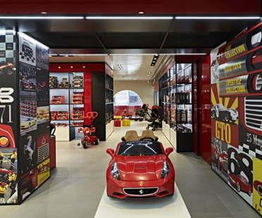 Massimo Iosa Ghini Ferrari Flagship Store Milan