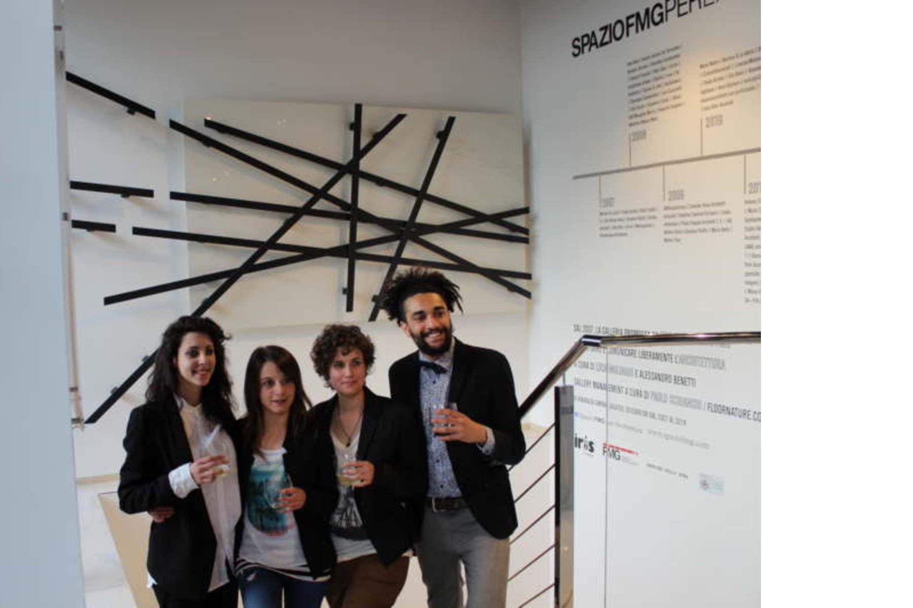 new SpazIOFMG corporate identity Fuorisalone 2015 Events
