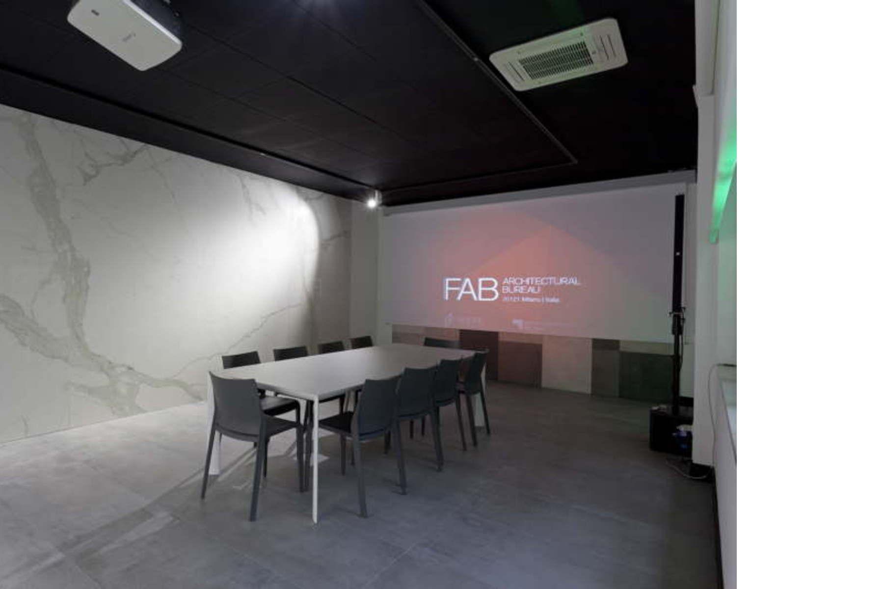 Fab architectural bureau milan new fiandre group creative space
