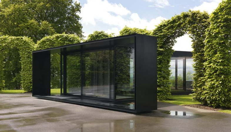 House In The Chilterns In The Footsteps Of Mies Van Der Rohe