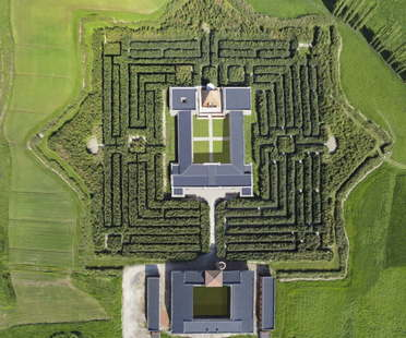 The Masone Labyrinth in Fontanellato, Parma, the world's largest labyrinth
