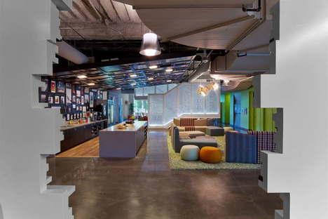 Google Orange County headquarters by Rapt Studio
