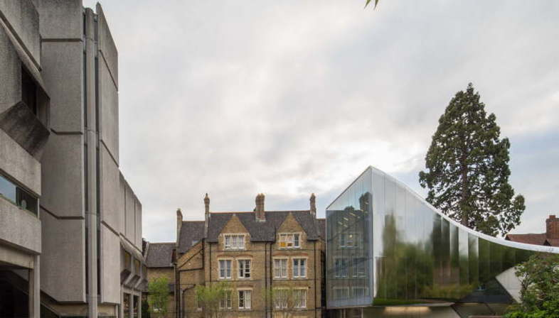 Zaha Hadid Investcorp Building, Middle East Centre of St Antony's College, Oxford University