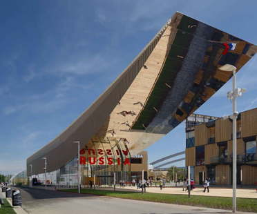 Sergei Tchoban Speech projects and Expo Milano 2015 pavilion the best of the week