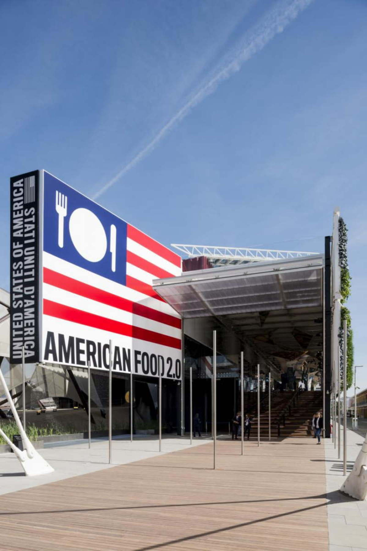 James Biber USA Pavilion Expo Milano 2015