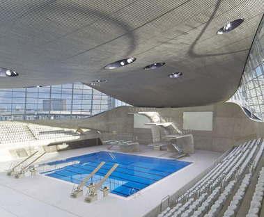 Zaha Hadid Architects London Aquatics Centre photo by Hufton Crow