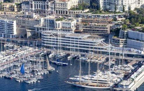 Foster & Partners Yacht Club Monaco photo by Carlo Borlenghi
