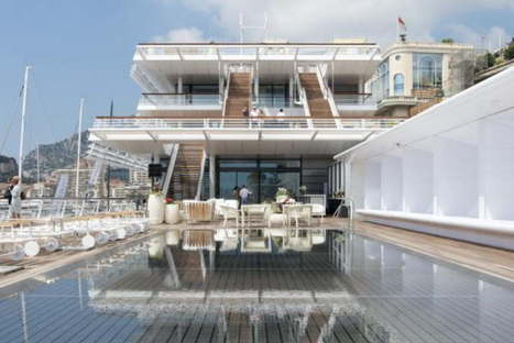 Foster & Partners Yacht Club Monaco photo by Nigel Young