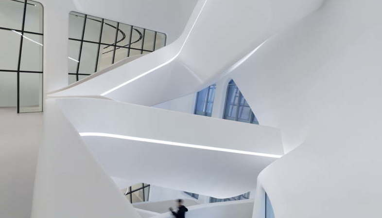 Zaha Hadid exhibition at The State Hermitage Museum