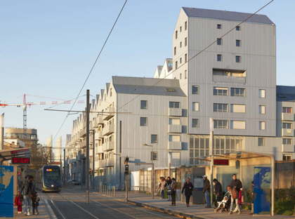 ANMA Housing in the old Bordeaux submarine base