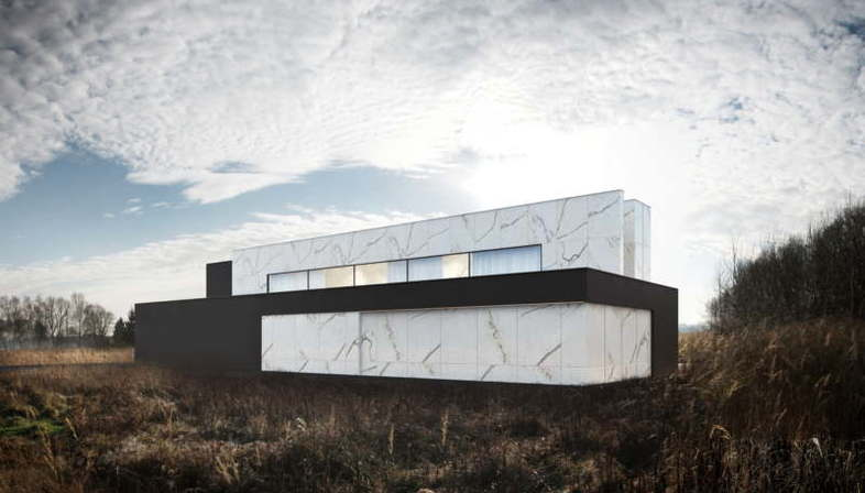 Luxury in black and white: ReForm Architects' Zlotno House