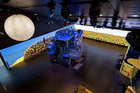 Sustainable Farm Pavilion New Holland Agriculture Expo Milano 2015