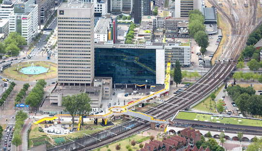 ZUS The Luchtsingel Rotterdam: the first crowdfunding infrastructure
