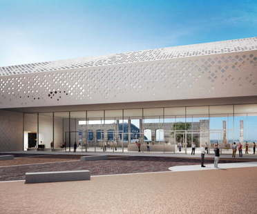 The winning design for the new Science Centre at Città della Scienza in Naples