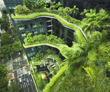 Woha PARKROYAL on Pickering Singapore wins the CTBUH Urban Habitat Award 2015
