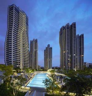Woha PARKROYAL on Pickering Singapore wins the CTBUH Urban Habitat Award 2015