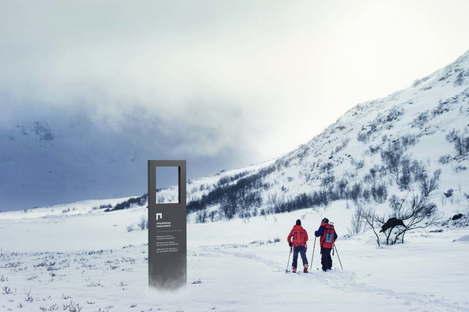 Snøhetta visual identity + brand strategy Norway's National Parks